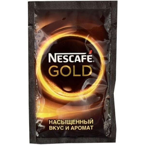 Кофе растворимый Nescafe Gold сублимированный 2 гр. (Флоу-пак)