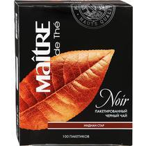 Чай черный Maitre Indian Star 100 пакетов