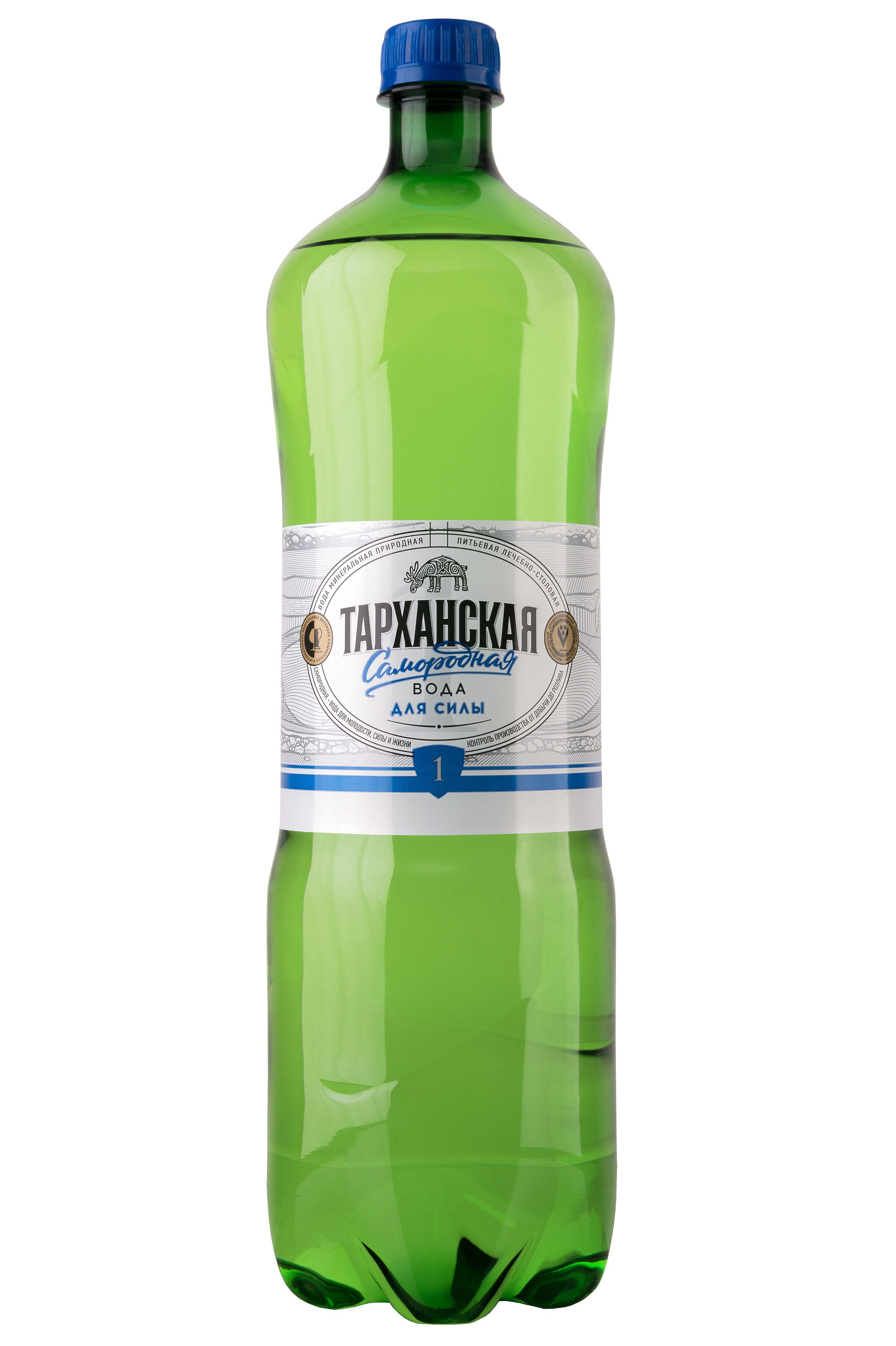 Вода минеральная Тарханская Самородная лечебно-столовая  1,5 л.