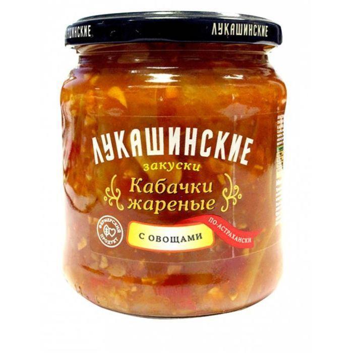 Кабачки Лукашинские Жареные с овощами По-астрахански