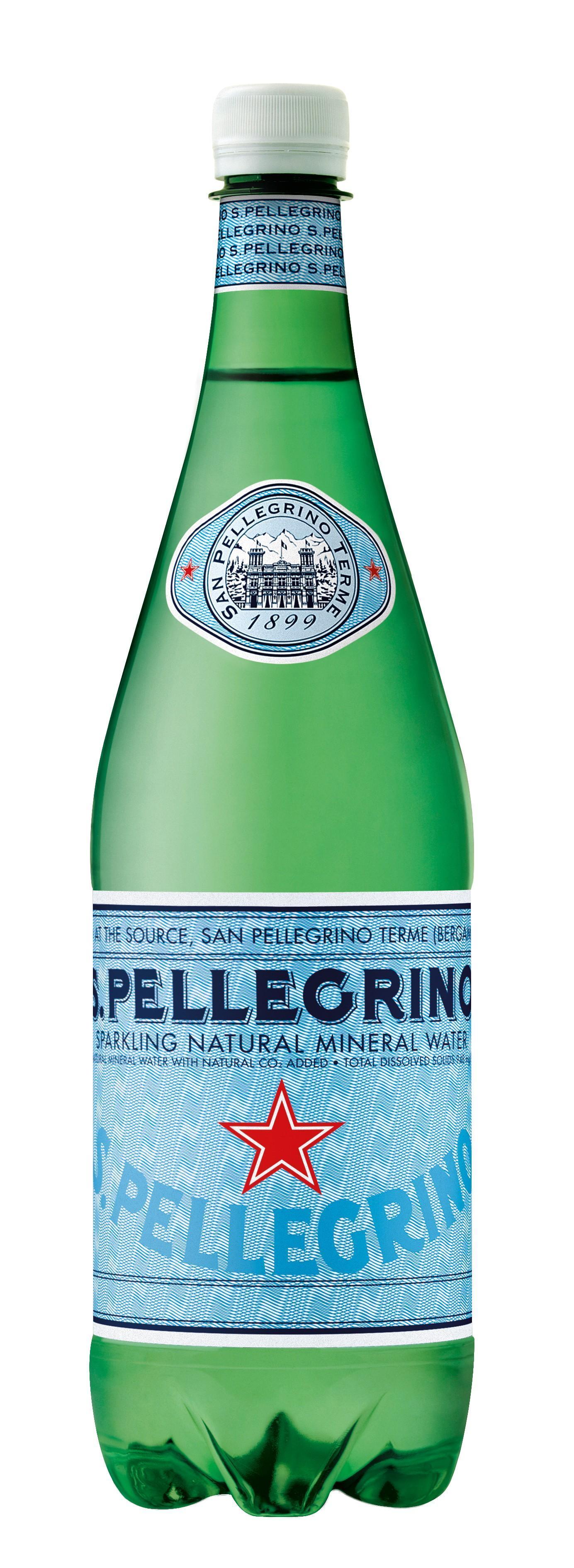 Вода San Pellegrino минеральная газированная