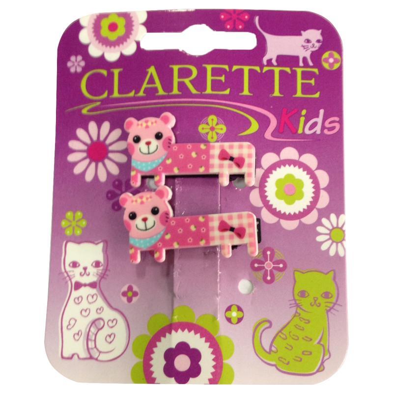 Заколка для волос Clarette Мишки 2шт.