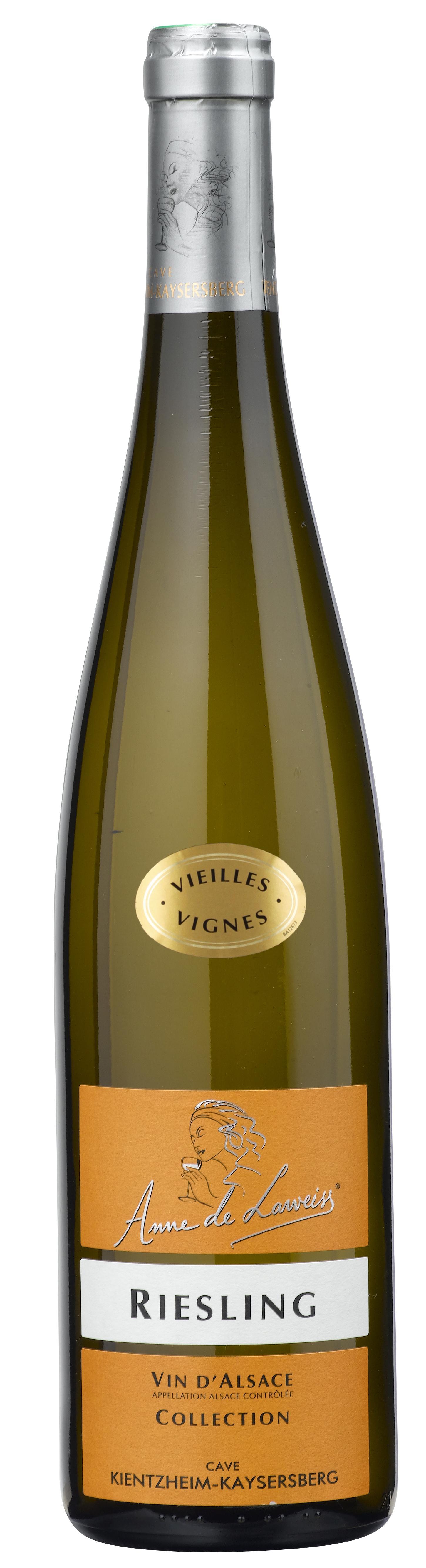 Вино Эльзас Коллексьон Анна де Лавейс Рислинг, Франция