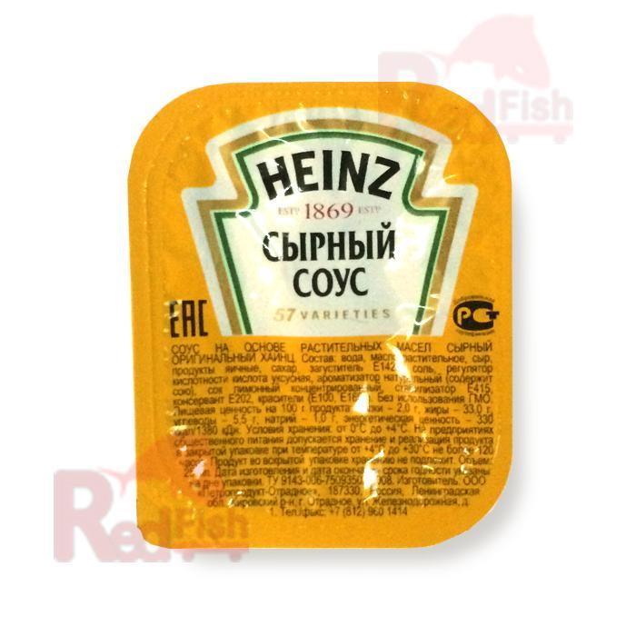 """Соус сырный """"HEINZ"""" дип-пот 25мл, (125шт/кор)"""