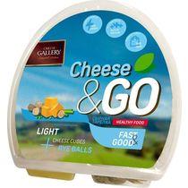 Сырная тарелка Cheese Gallery с ржаными отрубями