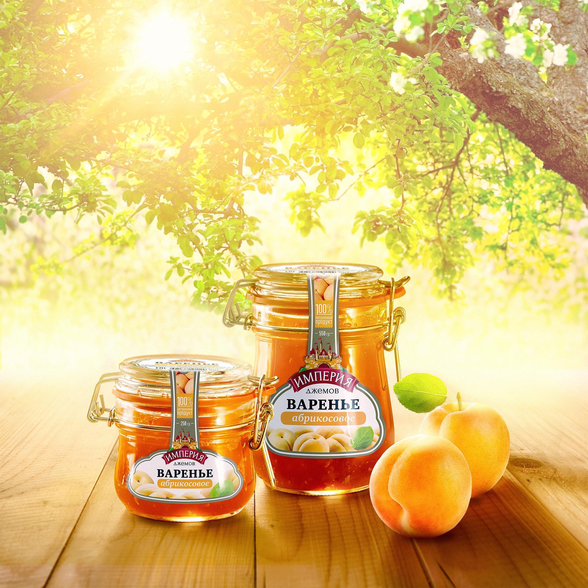 Варенье Империя Джемов абрикосовое