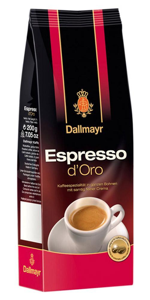 Кофе Dallmayr Esspresso d'Oro в зернах