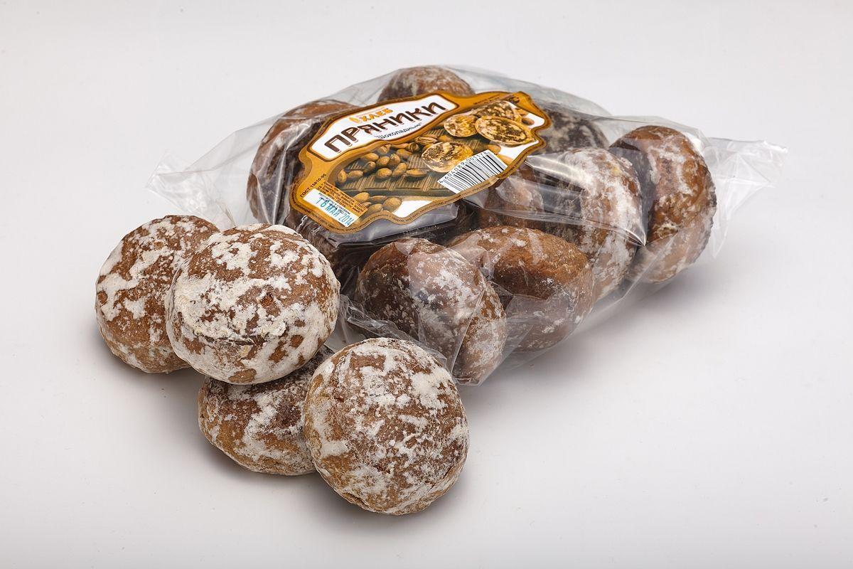 Пряники Демичев Шоколадные с орехами