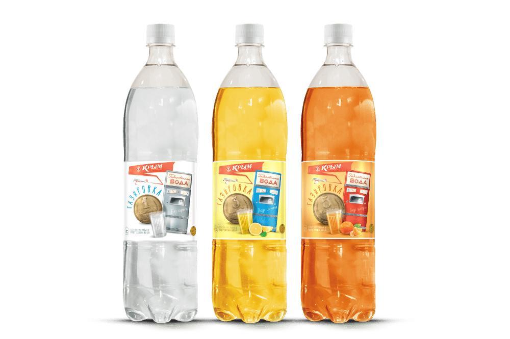 Напиток Крым Газировка 1 копейка безалкогольный первой категории