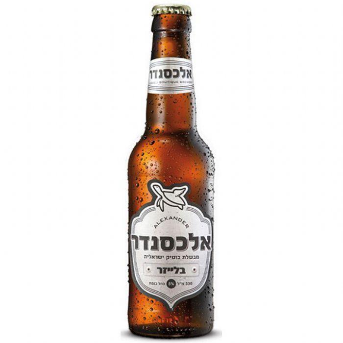 Пиво Alexander Blazer нефильтрованное непастеризованное 8%