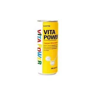 Газированный напиток Vita Power Lotte
