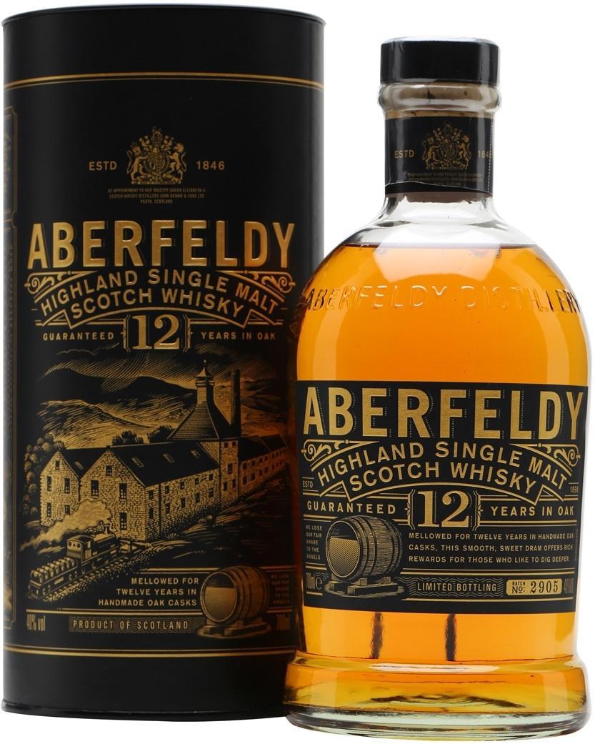 Виски Aberfeldy 12 Years Old шотландский односолодовый 12 лет 40%