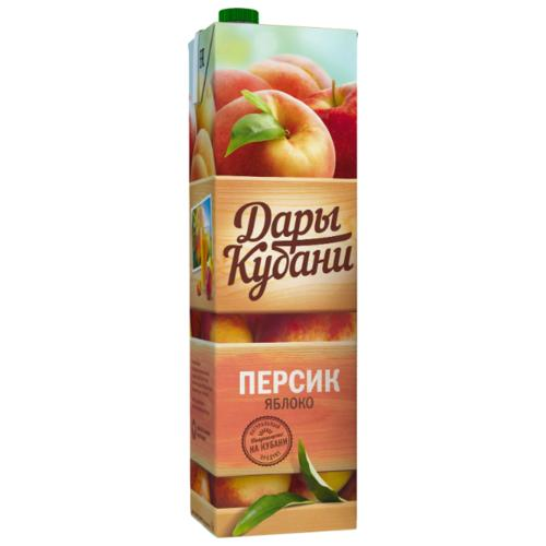 Напиток Дары Кубани сокосодержащий персик-яблоко