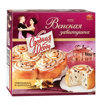 Пирог Черемушки Венская Завитушка сливочный мусс и шоколад