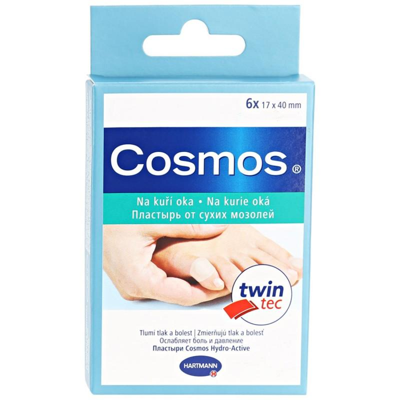 Пластырь Hartmann Cosmos Hydro-Active Для сухих мозолей для пальцев ног 6шт
