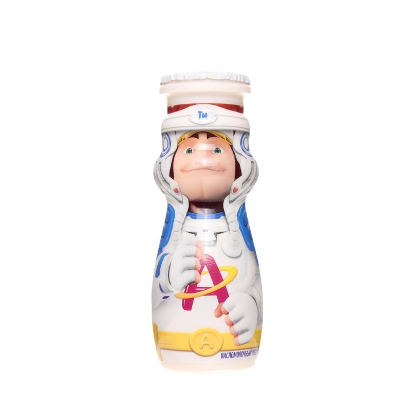 Продукт кисломолочный Actimel детский клубника-банан 2,5%