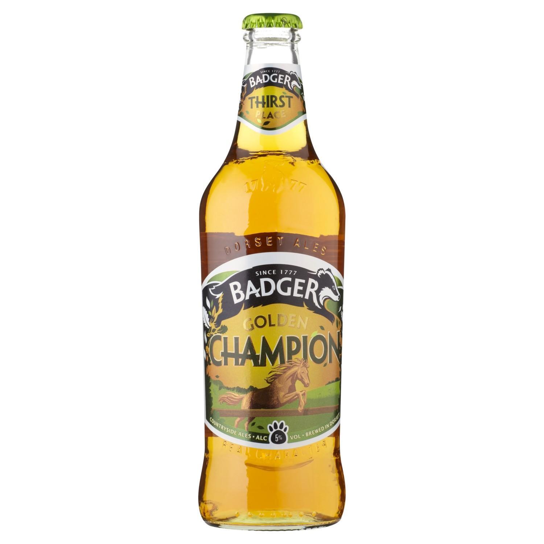 Пиво Badger Golden Champion Ale 5%