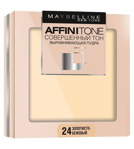 Пудра Maybelline Affinitone Совершенный Тон №24