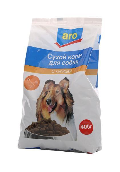 Корм для собак Aro с курицей сухой
