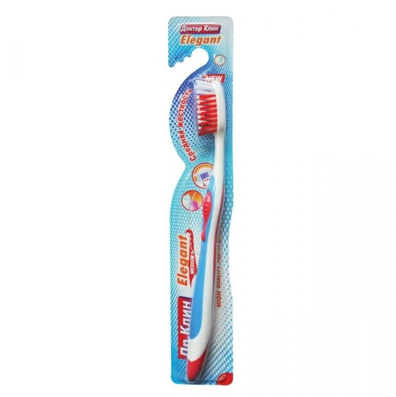 Зубная щетка Dr.Clean Elegant Средняя жесткость
