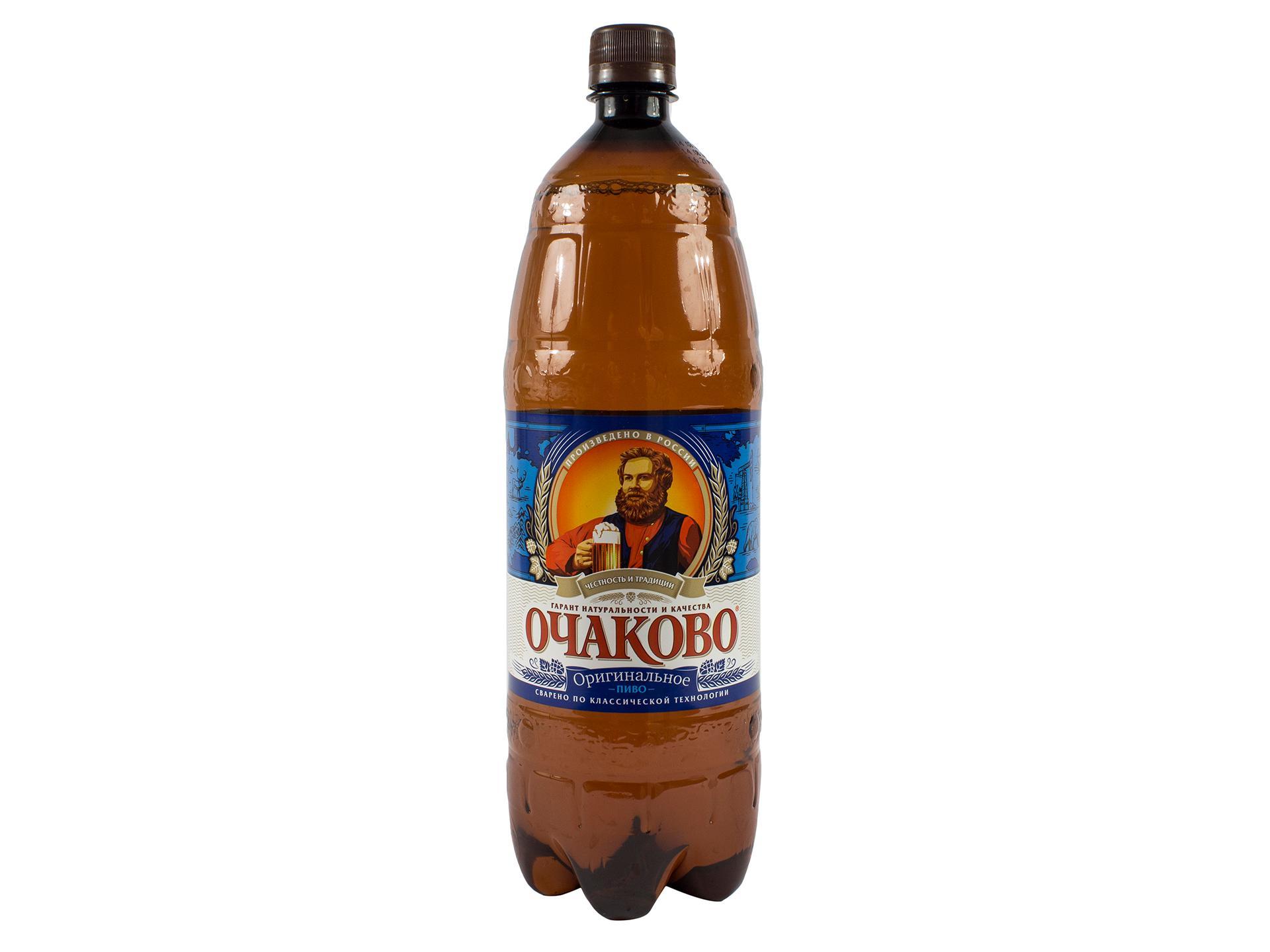 Пиво Очаково Оригинальное светлое 5%