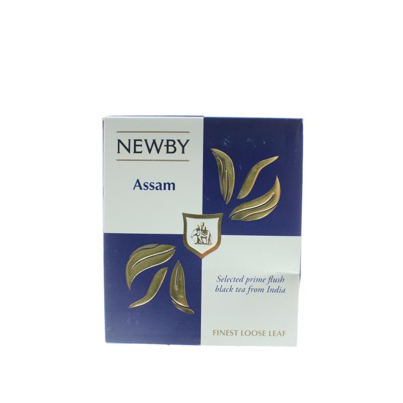 Чай черный Newby Assam Байховый