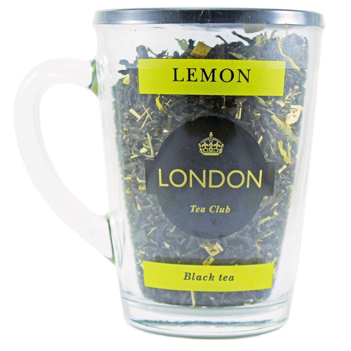Чай черный London tea club Lemon в Кружке