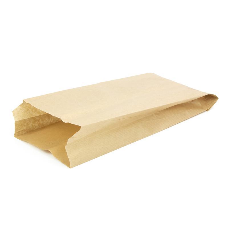 Пакет с пл. дн., 140*60*310 мм, крафт