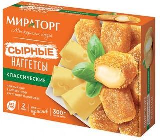 Наггетсы МИРАТОРГ Сырные Классические 300гр