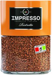 Кофе Impresso Ristretto сублимированный с молотым 100 гр