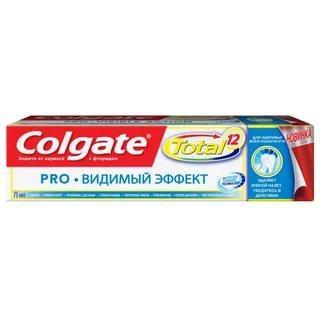 Зубная паста Colgate Total 12 Видимый эффект