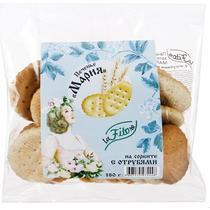 Печенье La Fit Ore Мария на сорбите с отрубями 180 гр.