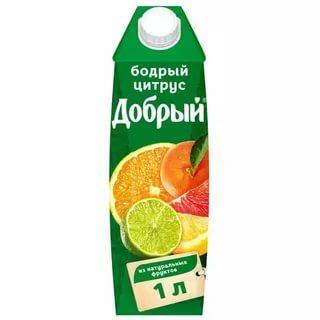 Нектар Добрый Апельсин-Яблоко-Мандарин