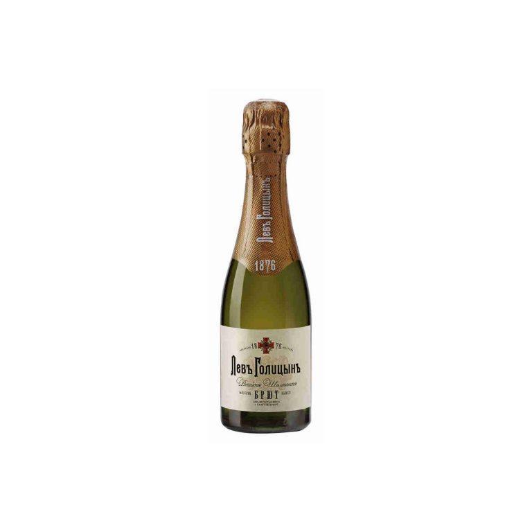 Шампанское Наследие Мастера Лев Голицынъ белое брют