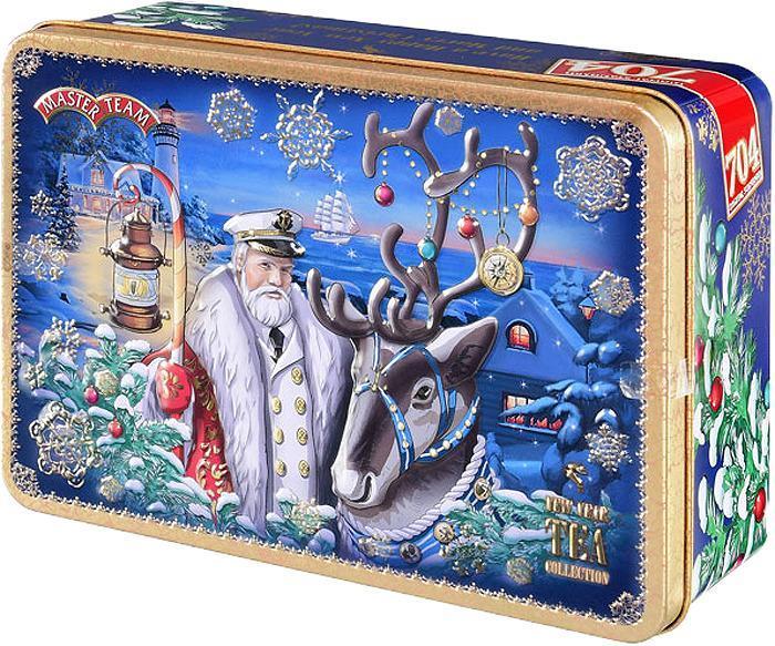 Чай Master Team Новогодняя сказка черный листовой подарочный набор