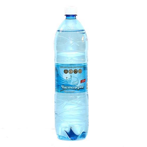 Вода минеральная Чистозерье лечебно-столовая хлоридно-гидрокарбонатная натриевая природная газированная