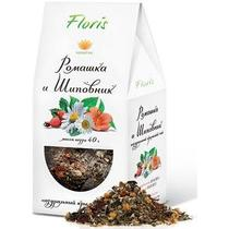 Чай Floris листовой с ромашкой и шиповником