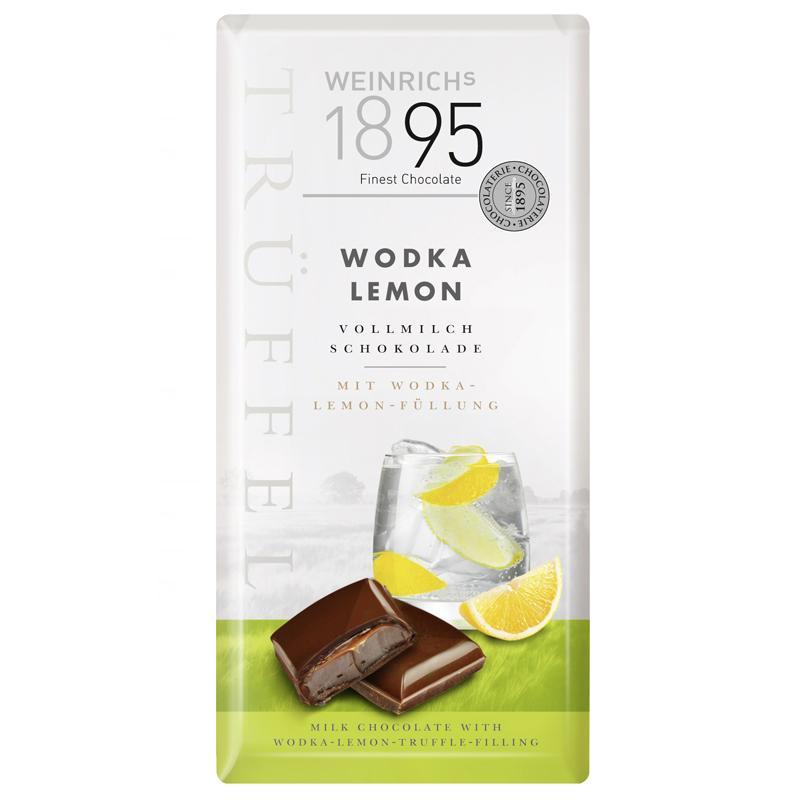 Шоколад Weinrich 1895 водка-лимон-трюфель