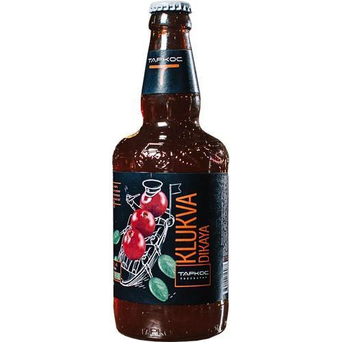 Пиво Таркос Klukva Dikaya 5.0%, стекло, 500 мл