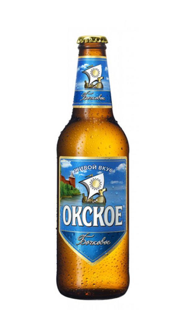 Пиво светлое Окское Бочковое 4,7% 0.45 л