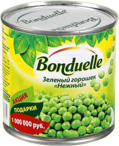 Горошек зелёный Bonduelle Нежный