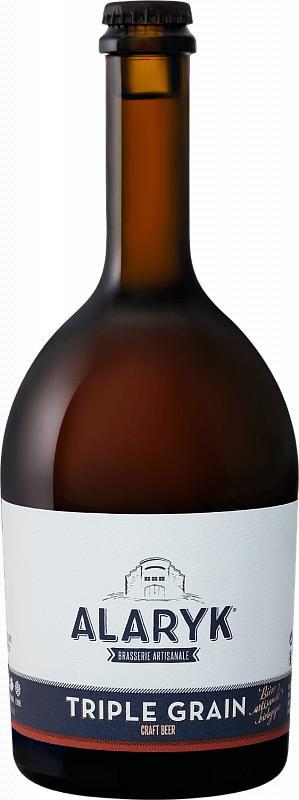 Пиво ALARYK Трипл Грейн светлое нефильтрованное неосветленное непастеризованное