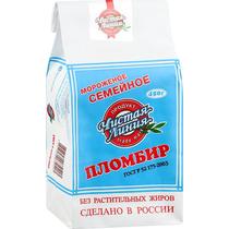 Мороженое пломбир Чистая Линия Ваниль 450 г