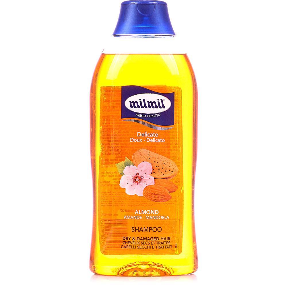 Шампунь MilMil для сухих волос Миндаль