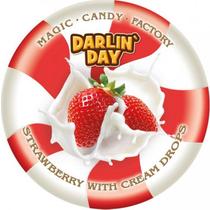 Карамель Darlin` Day Strawberry with cream drops 180 г.