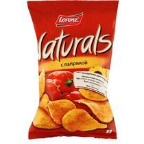 Чипсы картофельные Lorenz Naturals паприка