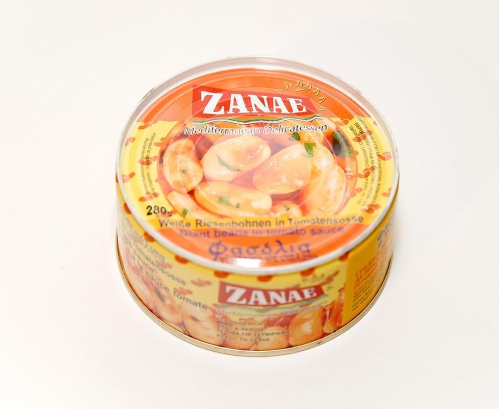 Фасоль Zanae гигантская в томатном соусе