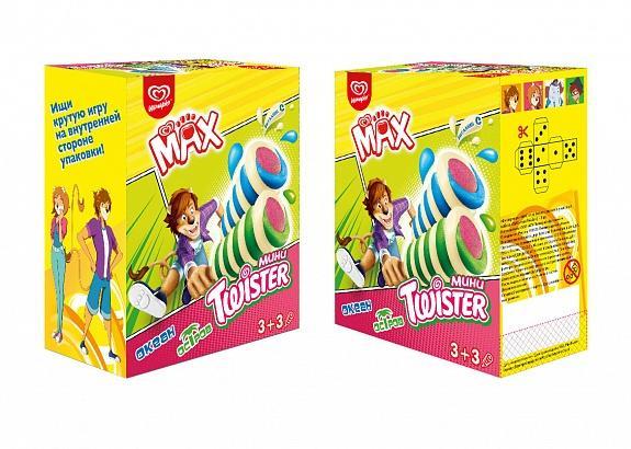 Мороженое Max Мини Twister 264 гр