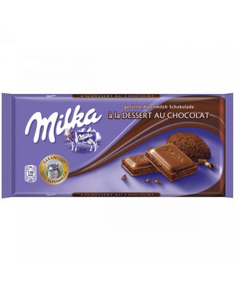 Шоколад Milka Dessert Au Chocolate