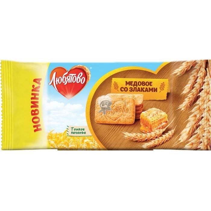 Печенье Любятово со злаками